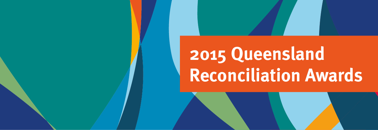 2015 Queensland Reconciliation Awards - Web icon without tagline