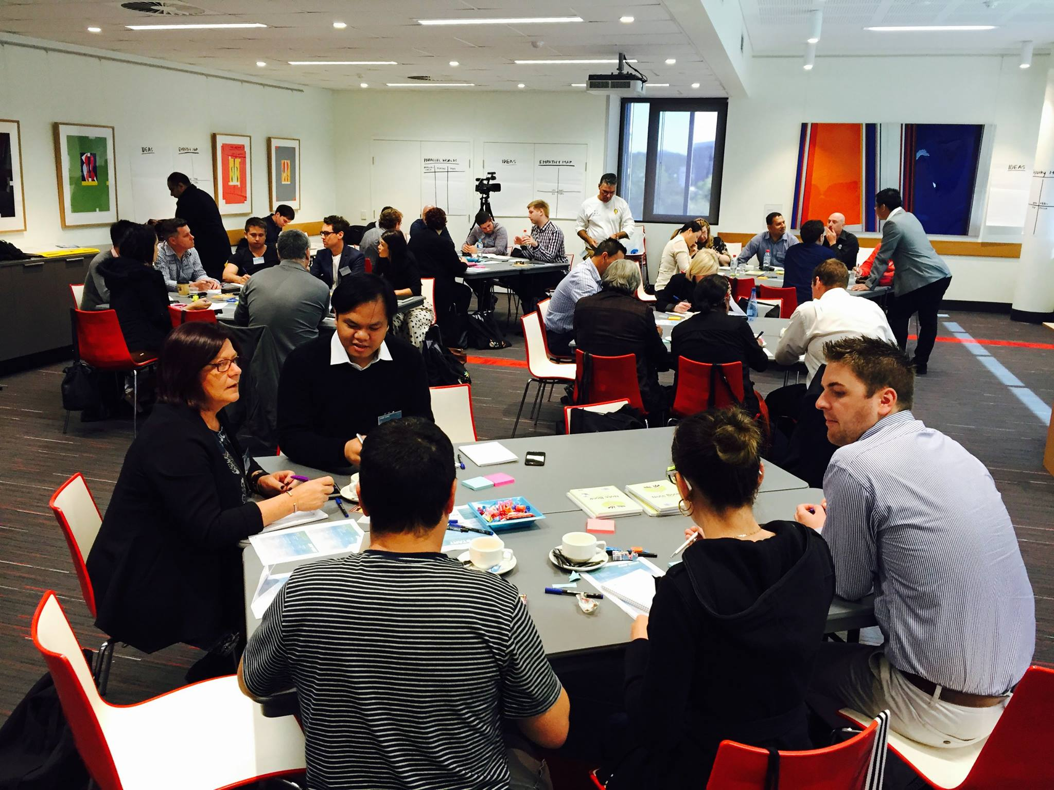 Design Thinking workshop with Indigenous business.